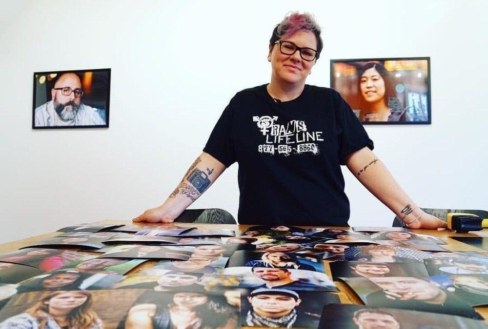 Live Through This x Art Dept: the largest exhibition of LTT portraits yet!